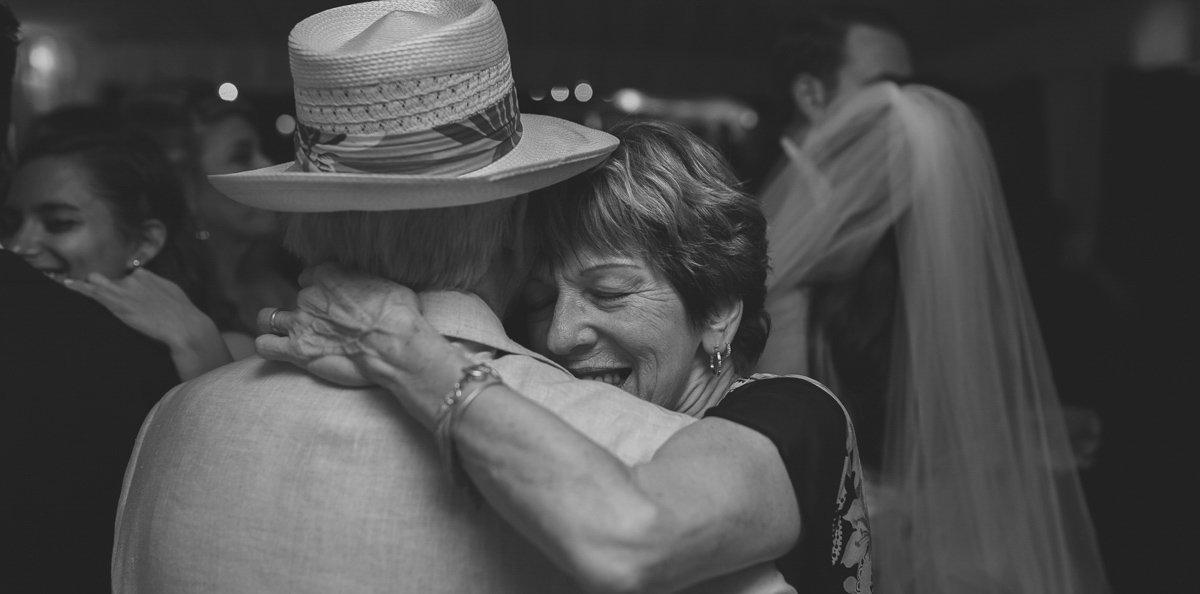 elderly couple dances on wedding reception in key west florida