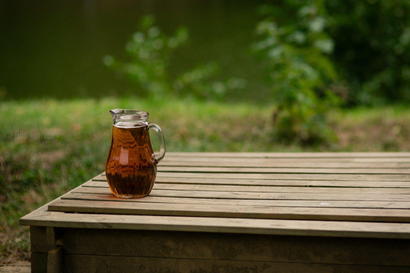 pitcher of czech beer