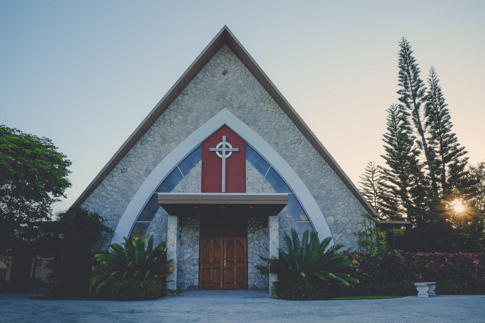 church building on flagler avenue in key west florida