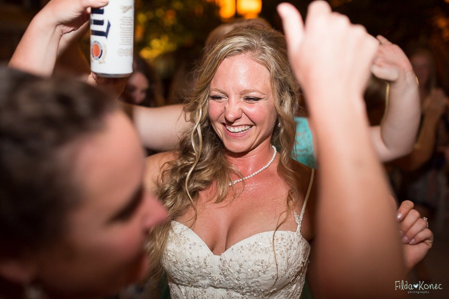bride dance at wedding reception at sheraton suites in key west florida