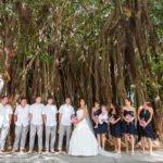 bridal part at banyan tree
