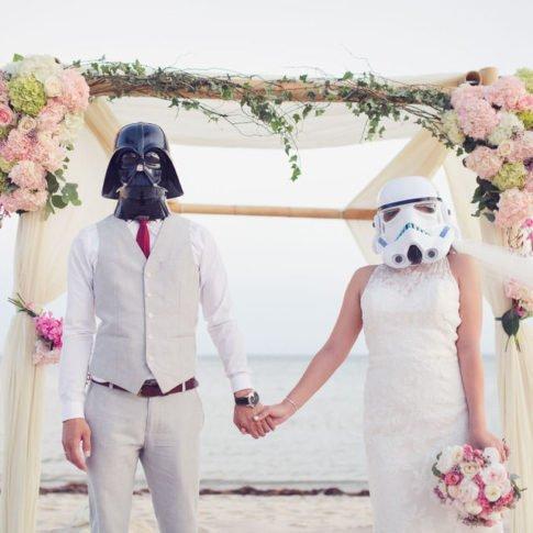 star wars themed wedding in key west florida
