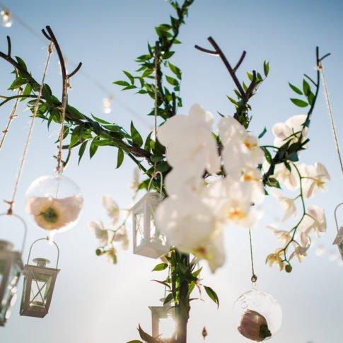 wedding decor at key west wedding