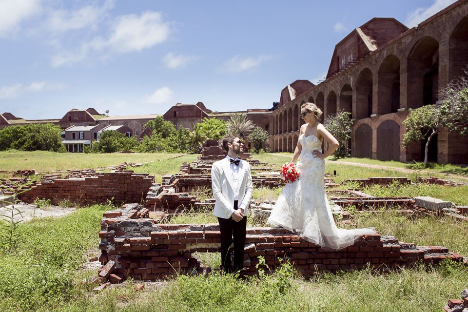 fort jefferson wedding key west photographer