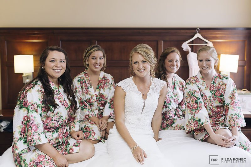 florida keys wedding bridesmaids