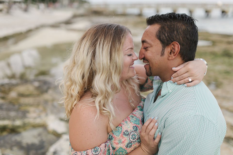 engagement photos at casa marina in key west