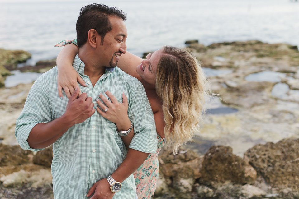 beach engagement in key west