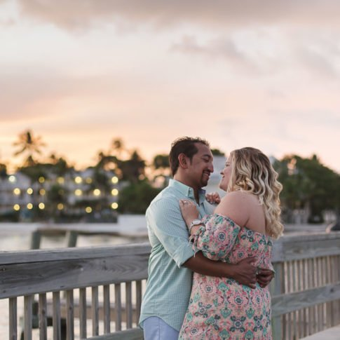 sunset session photography in key west