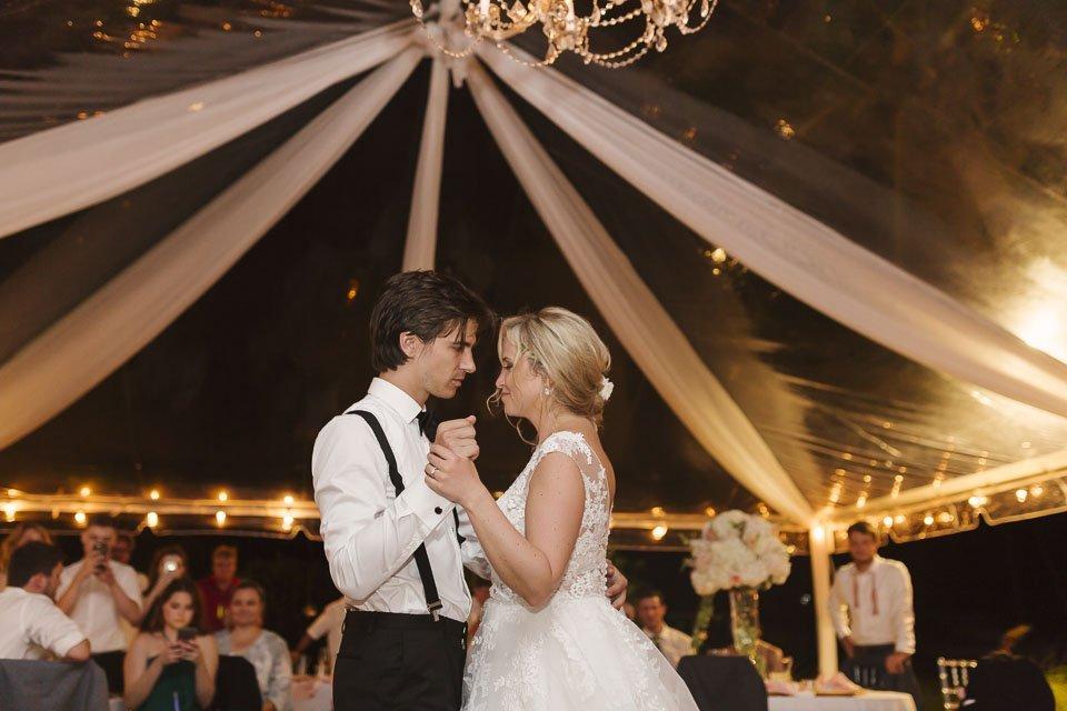 first dance at key west wedding reception