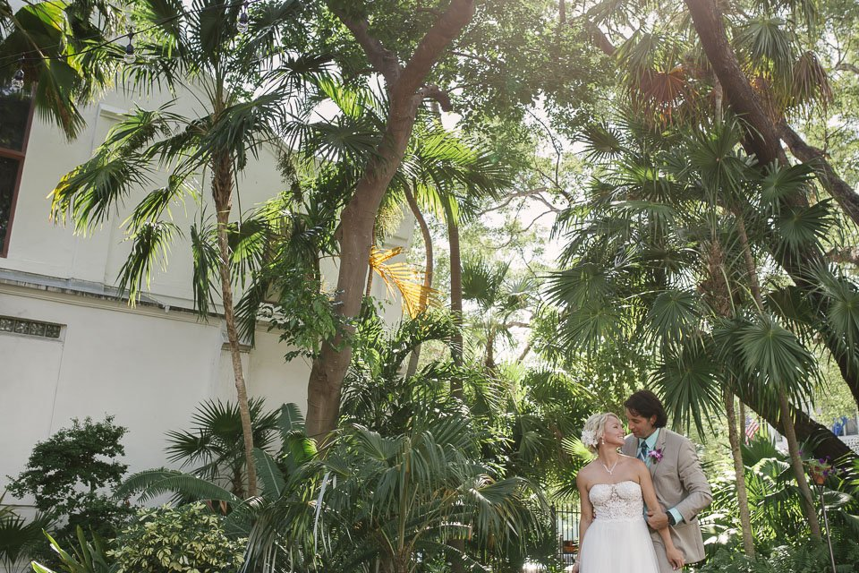 key west florida garden wedding