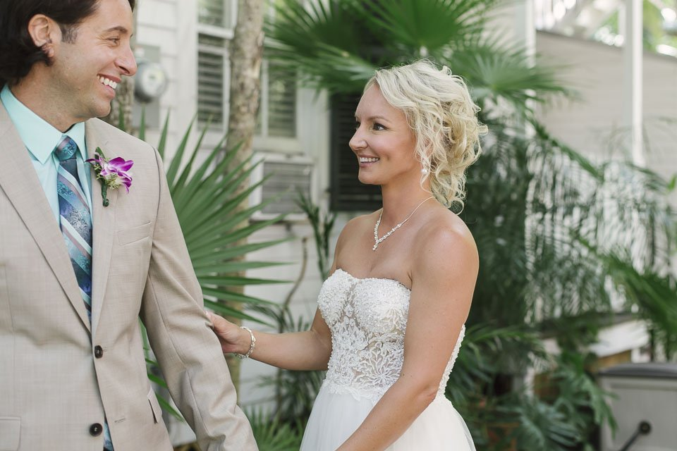 old town manor key west first look before the wedding