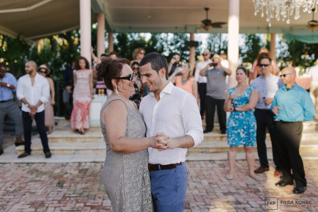 mother son dance at key west reception