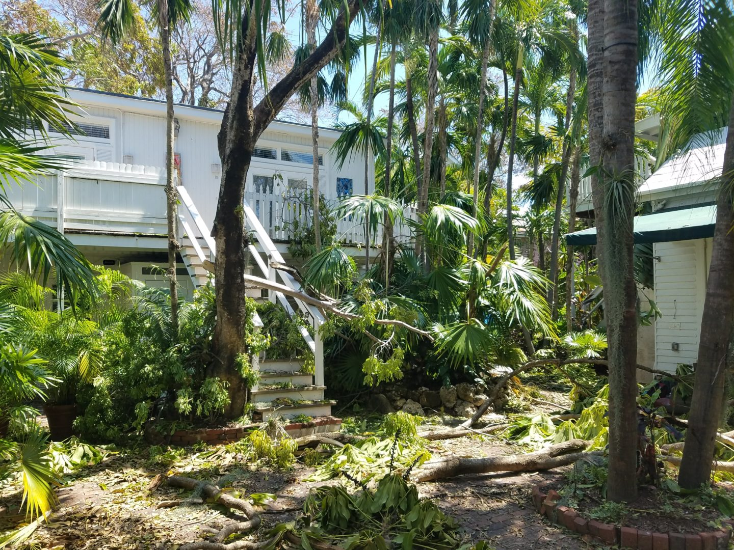 old town manor in key west florida after hurricane irma