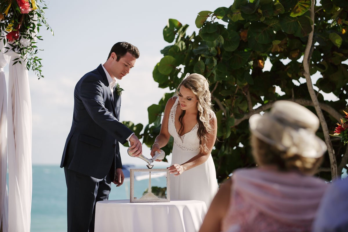 key west sand ceremony ideas