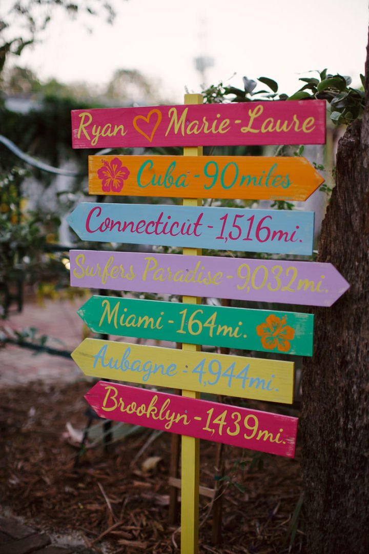 wedding wooden sign
