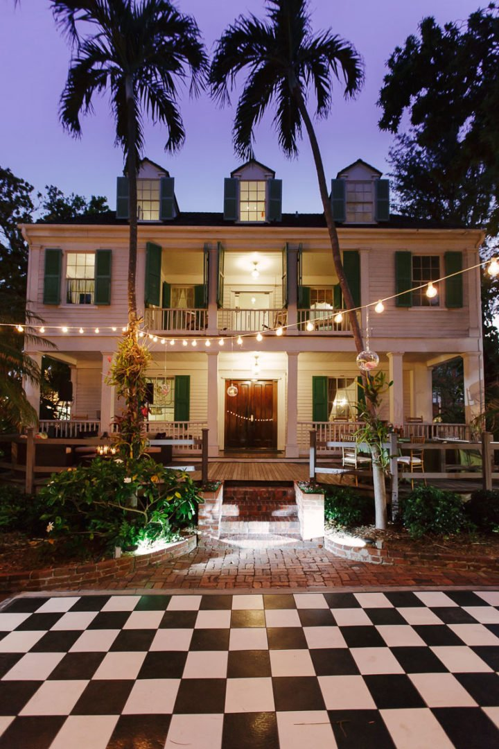audubon house key west wedding venue