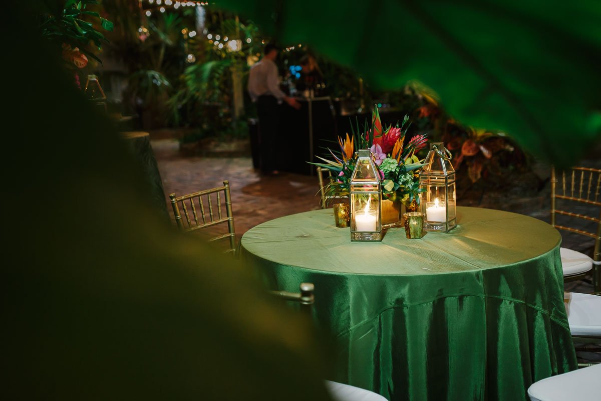 wedding reception setup florida keys weddings