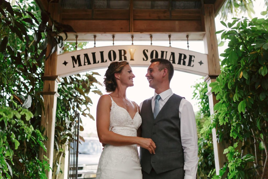 mallory square wedding in key west