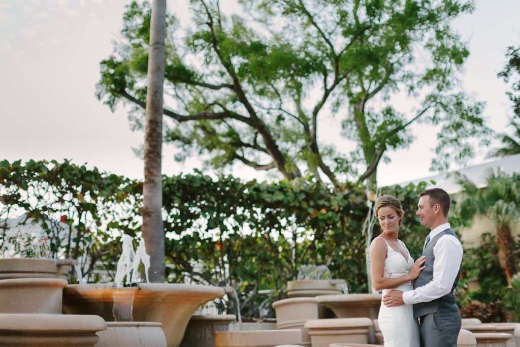 key west wedding on the beach