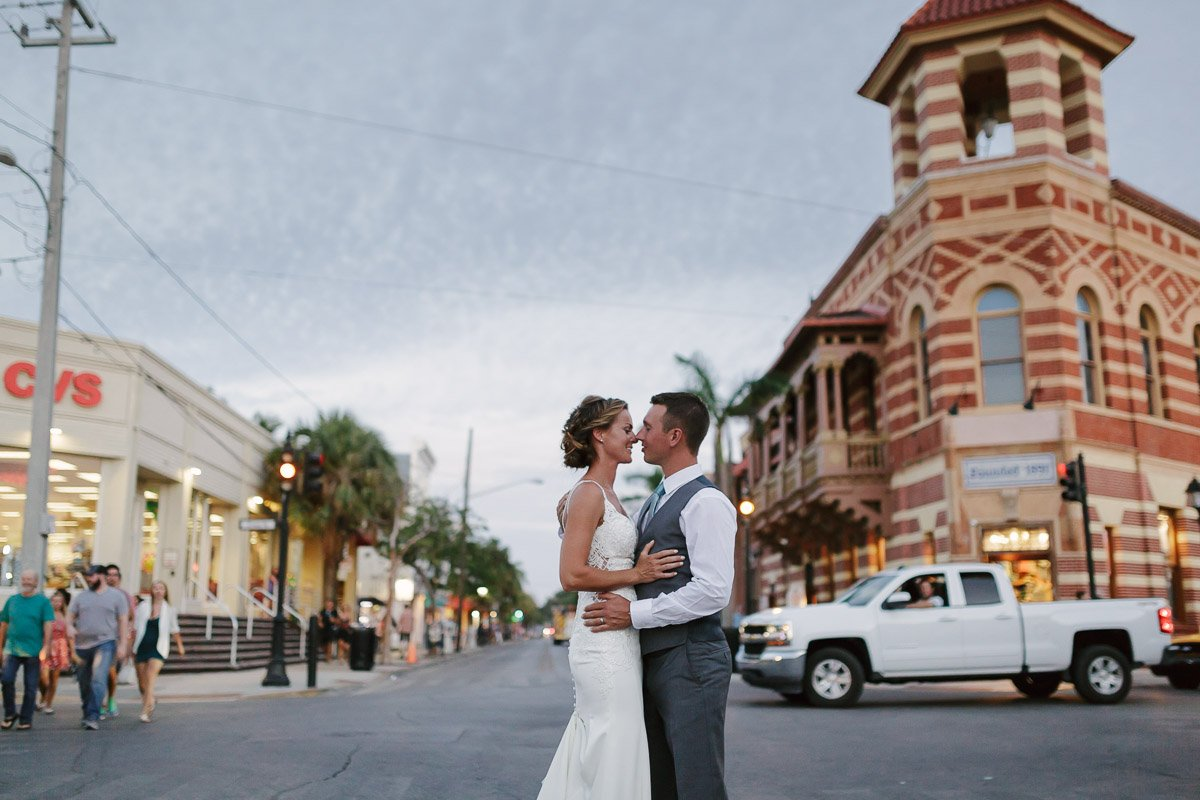 get married on duval street key west