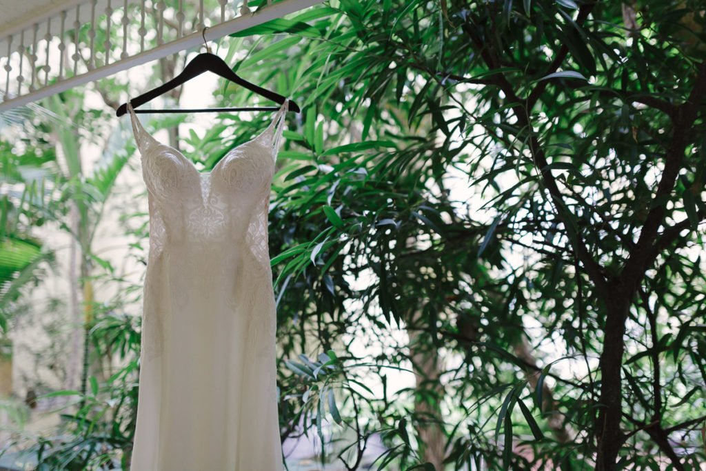 bridal dress at ocean key resort in key west florida