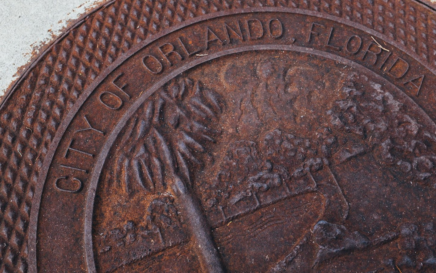 orlando sewer cover
