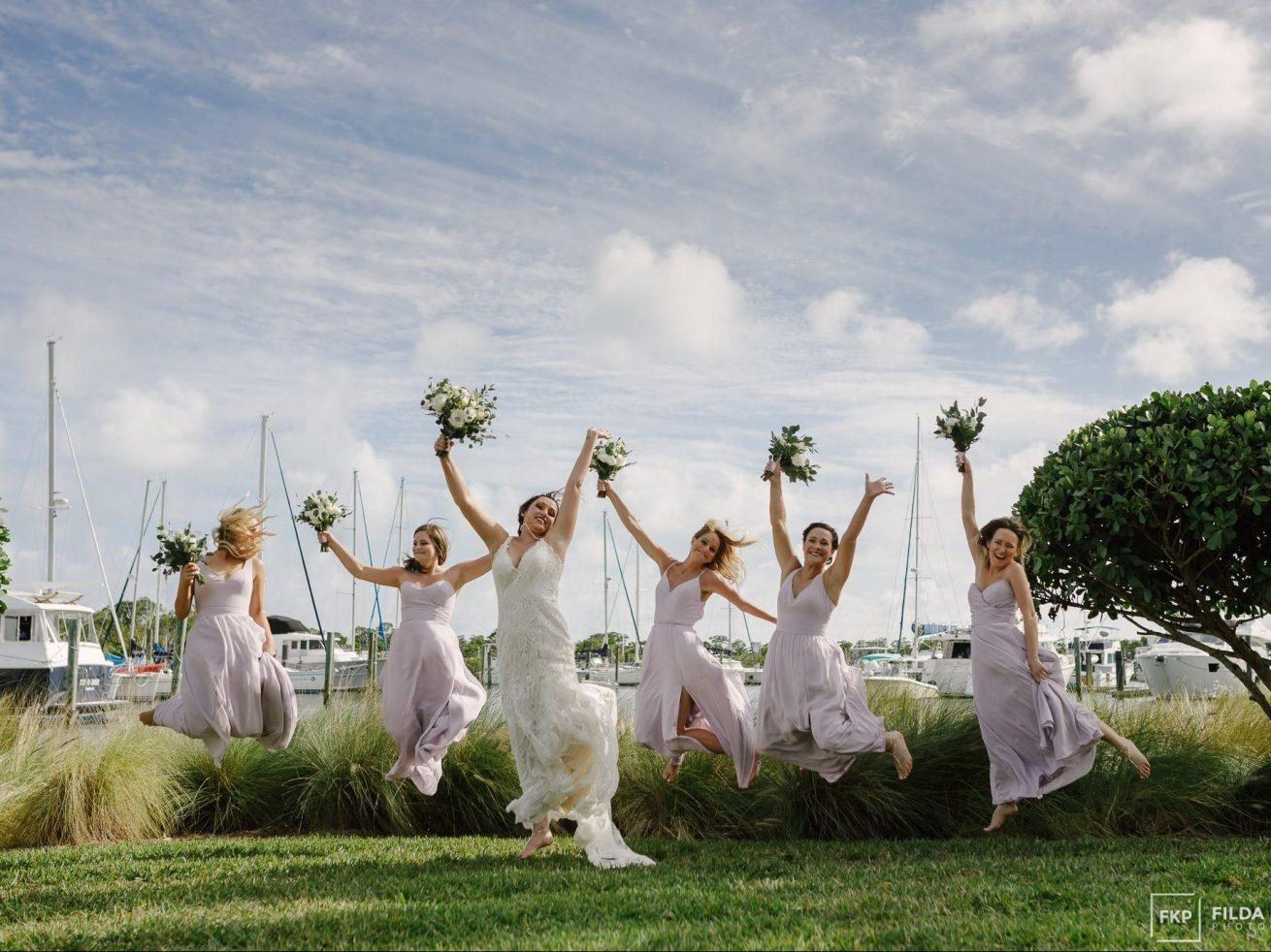 Key West Harbour wedding