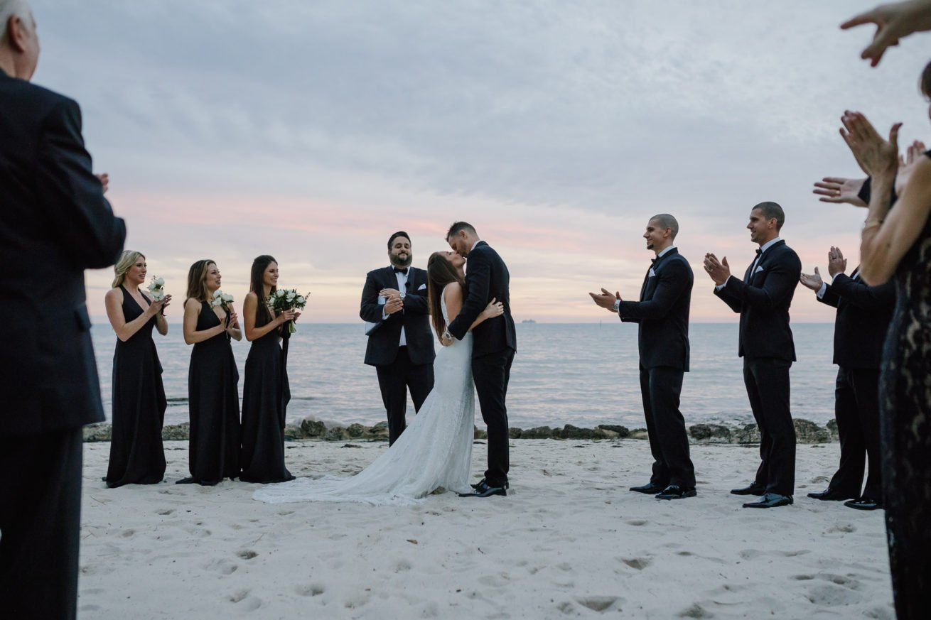 Wedding at Casa Marina Waldorf Astoria in Key West, FL