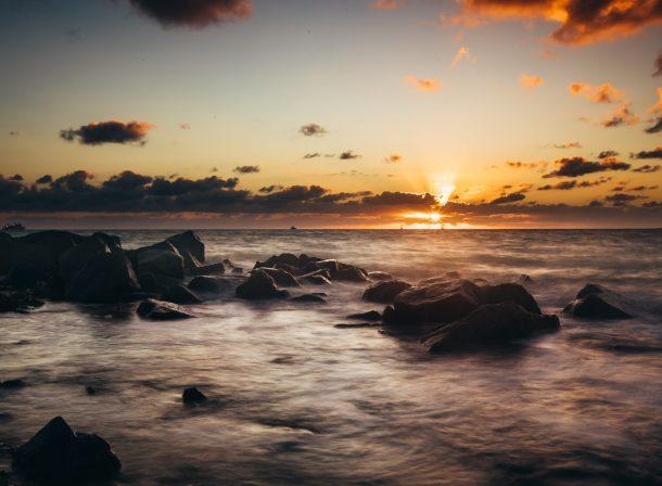 sunset over florida keys atlantic ocean captured by filda konec pohotography